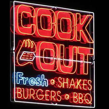 Cook Out fast food